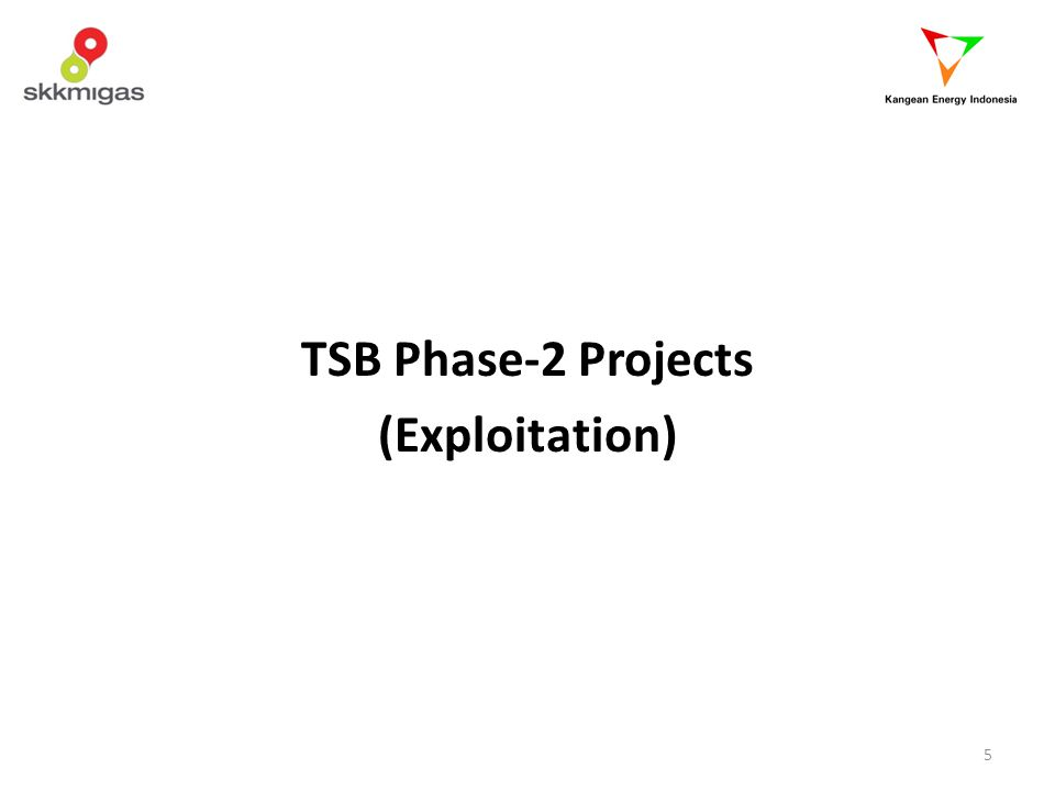 TSB Phase-2 Projects (Exploitation)