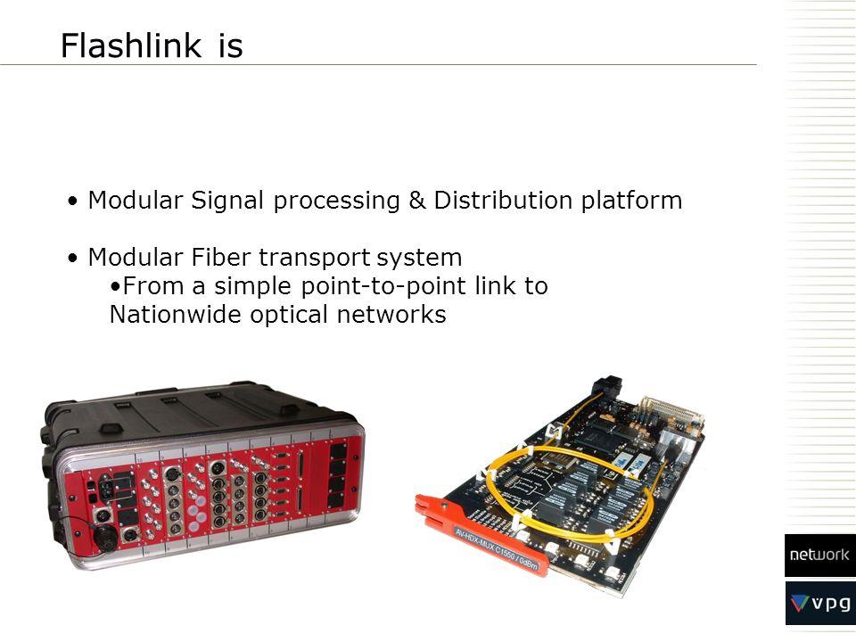 Flashlink is Modular Signal processing & Distribution platform