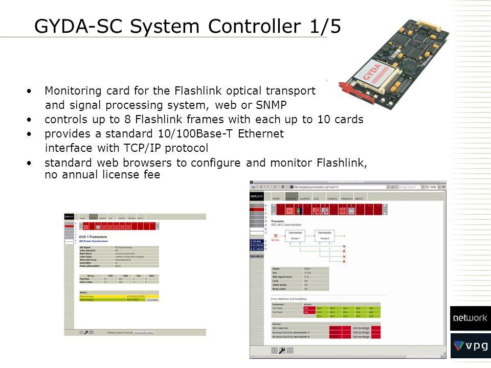 GYDA-SC System Controller 1/5