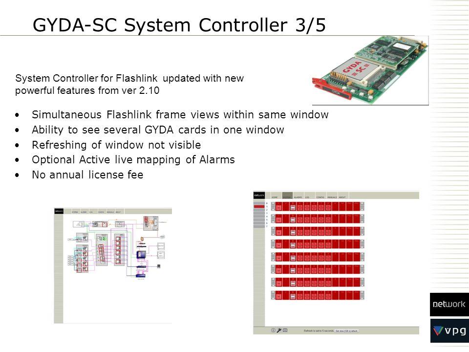 GYDA-SC System Controller 3/5