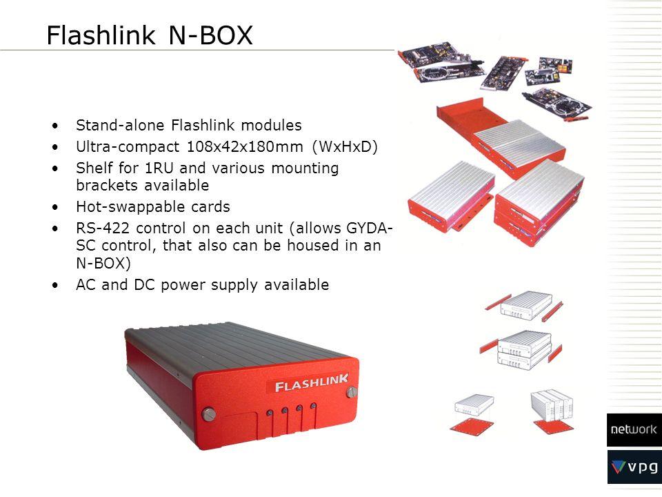 Flashlink N-BOX Stand-alone Flashlink modules