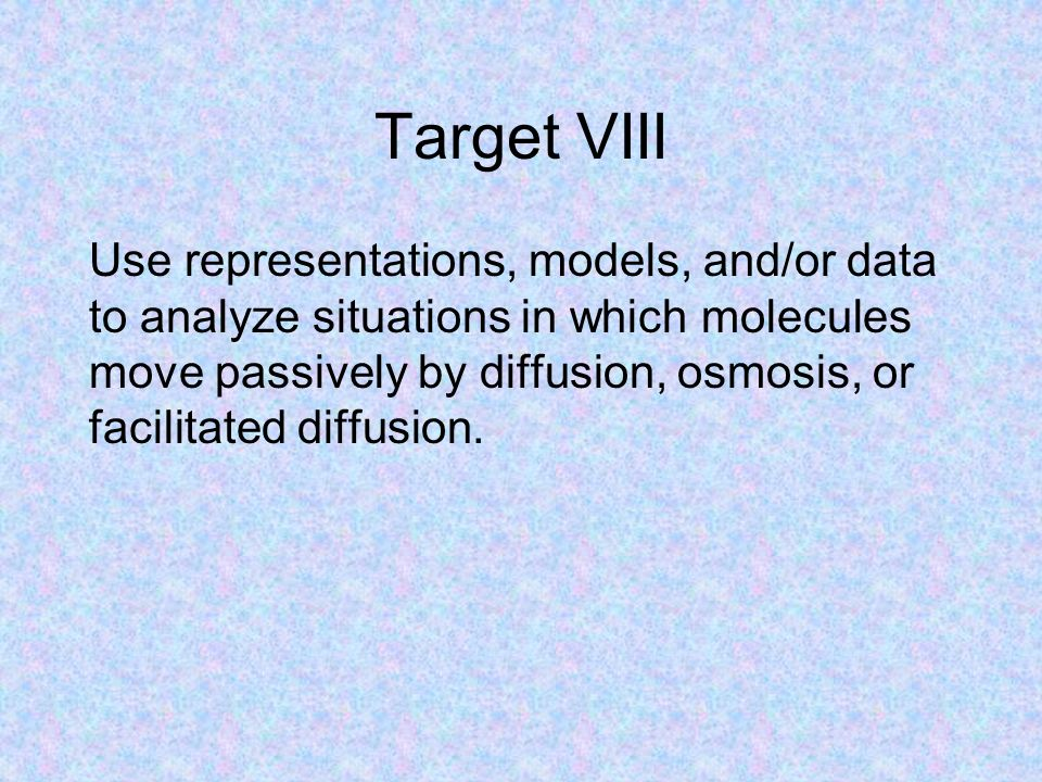 Target VIII