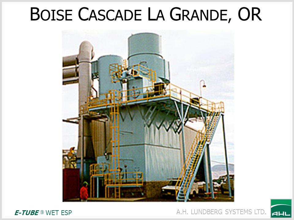 BOISE CASCADE LA GRANDE, OR