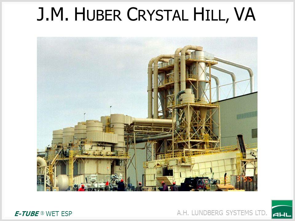 J.M. HUBER CRYSTAL HILL, VA