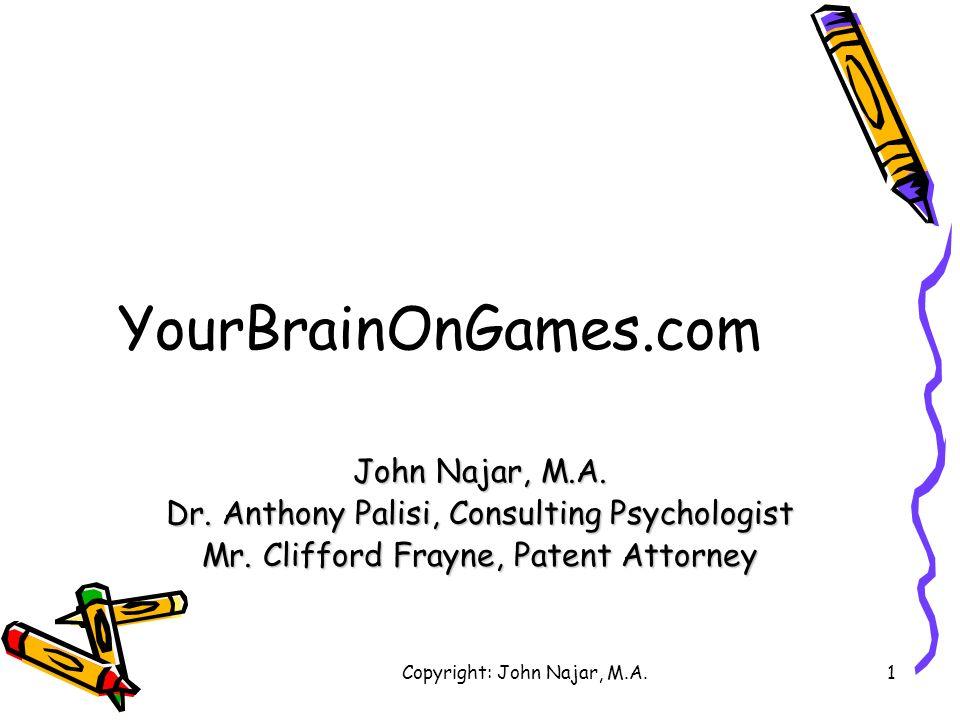 YourBrainOnGames.com John Najar, M.A.