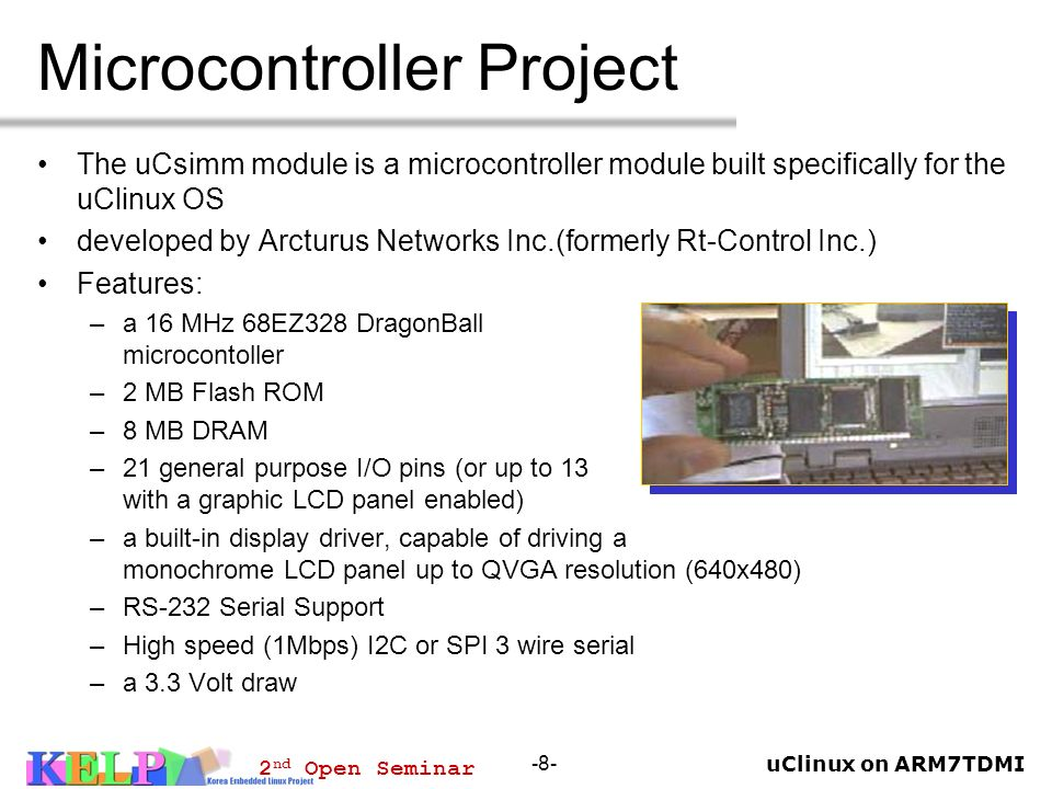 Microcontroller Project