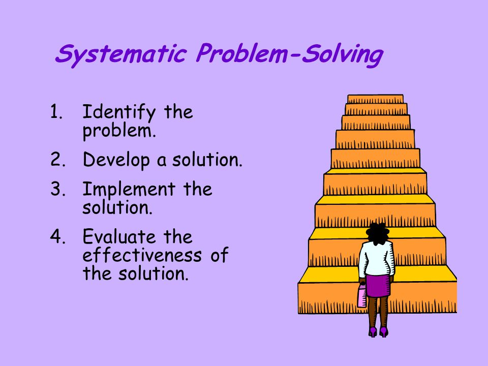 Systematic Problem-Solving
