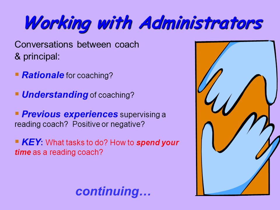 Working with Administrators