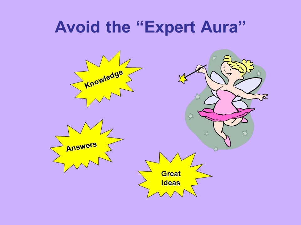 Avoid the Expert Aura