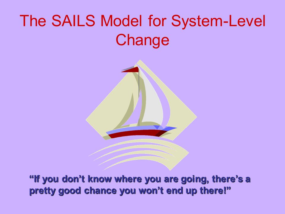 The SAILS Model for System-Level Change