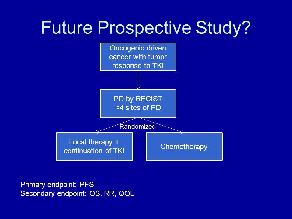 Future Prospective Study