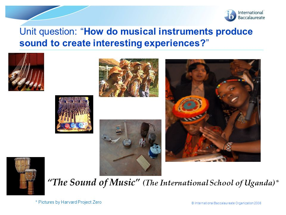 The Sound of Music (The International School of Uganda)*