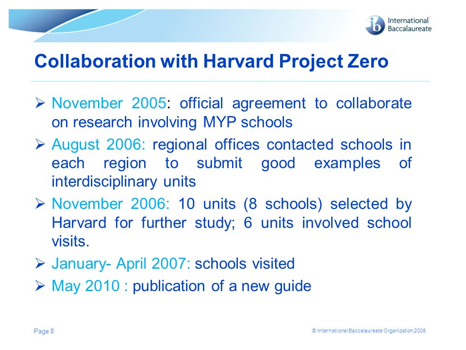 Collaboration with Harvard Project Zero