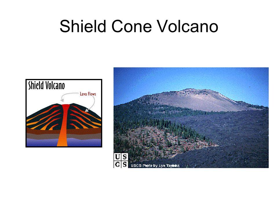 Shield Cone Volcano