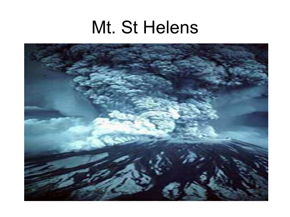 Mt. St Helens