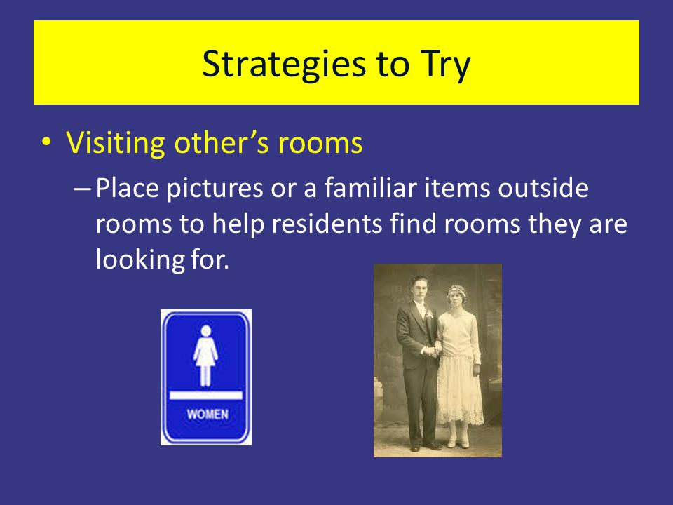 Strategies to Try Visiting other's rooms