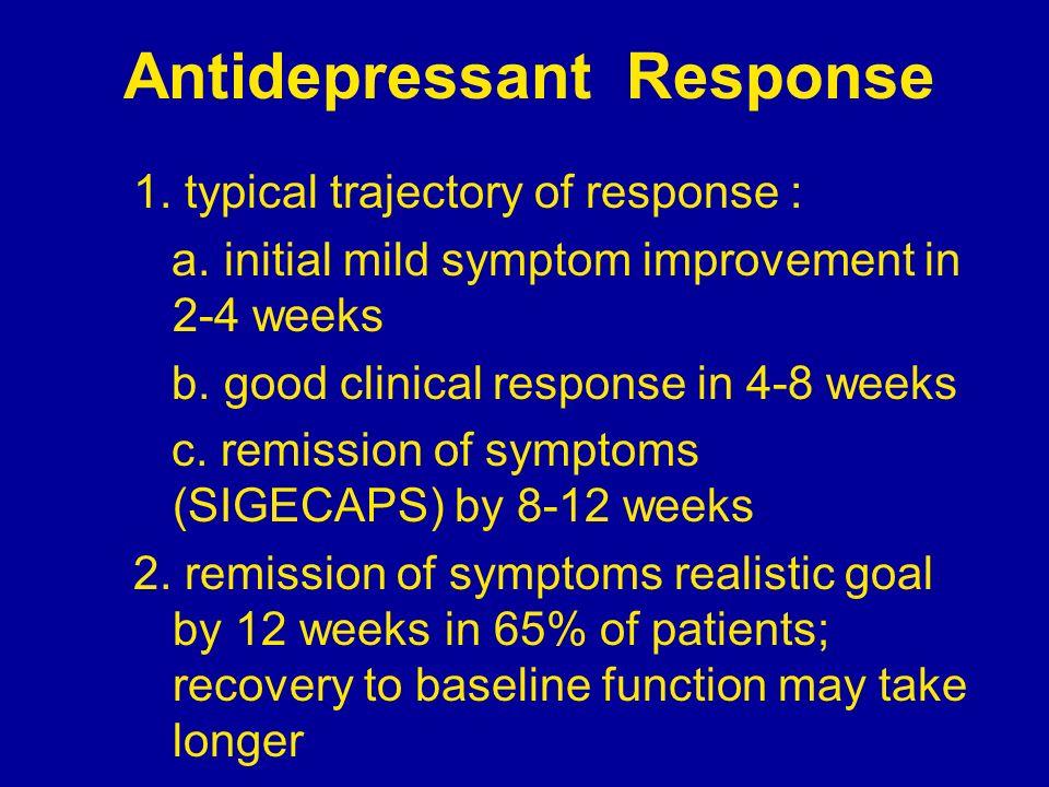 Antidepressant Response