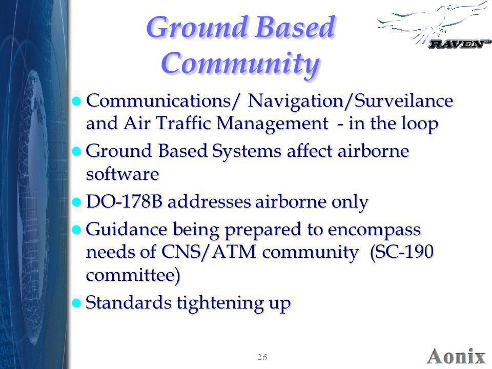 Ground Based Community