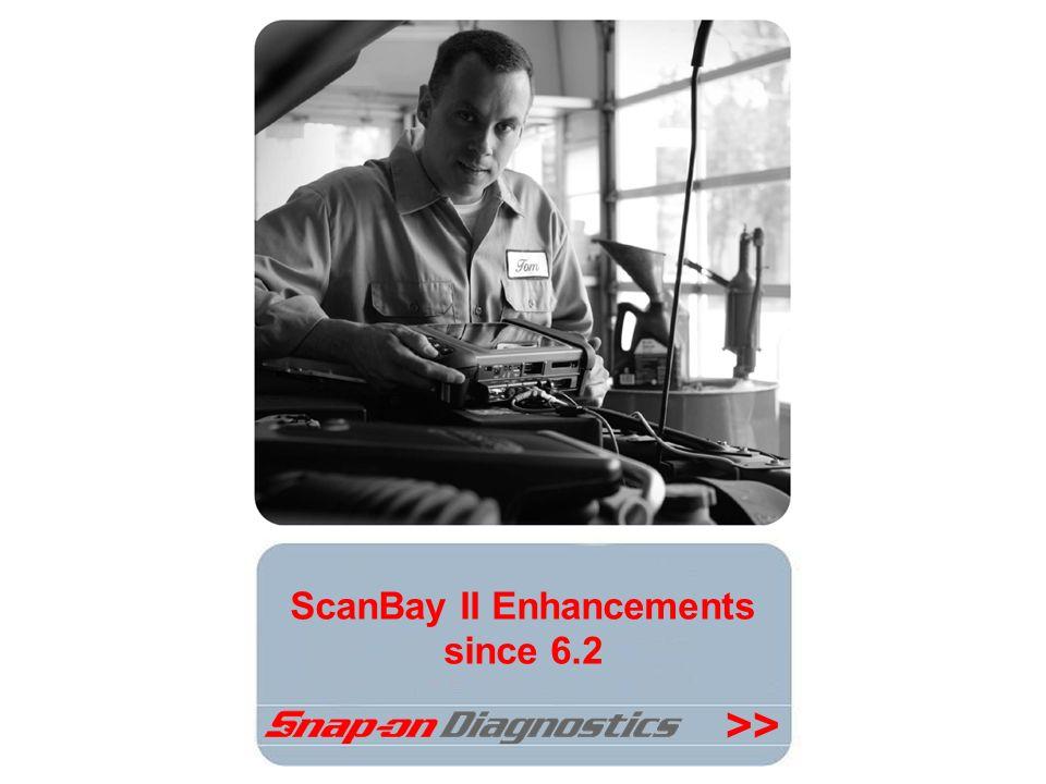 ScanBay II Enhancements since 6.2