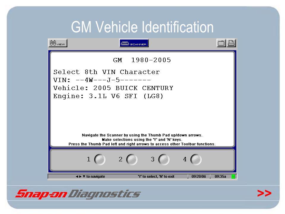 GM Vehicle Identification