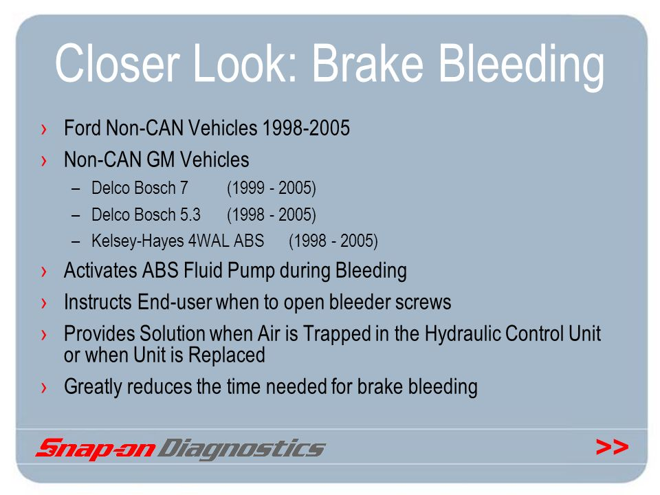Closer Look: Brake Bleeding