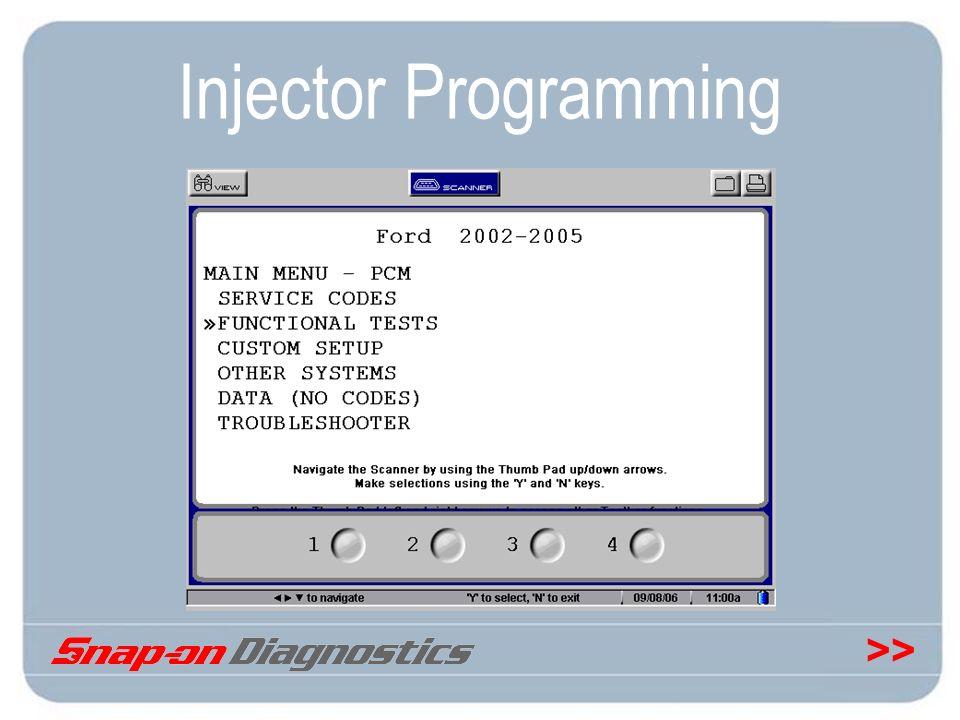 Injector Programming