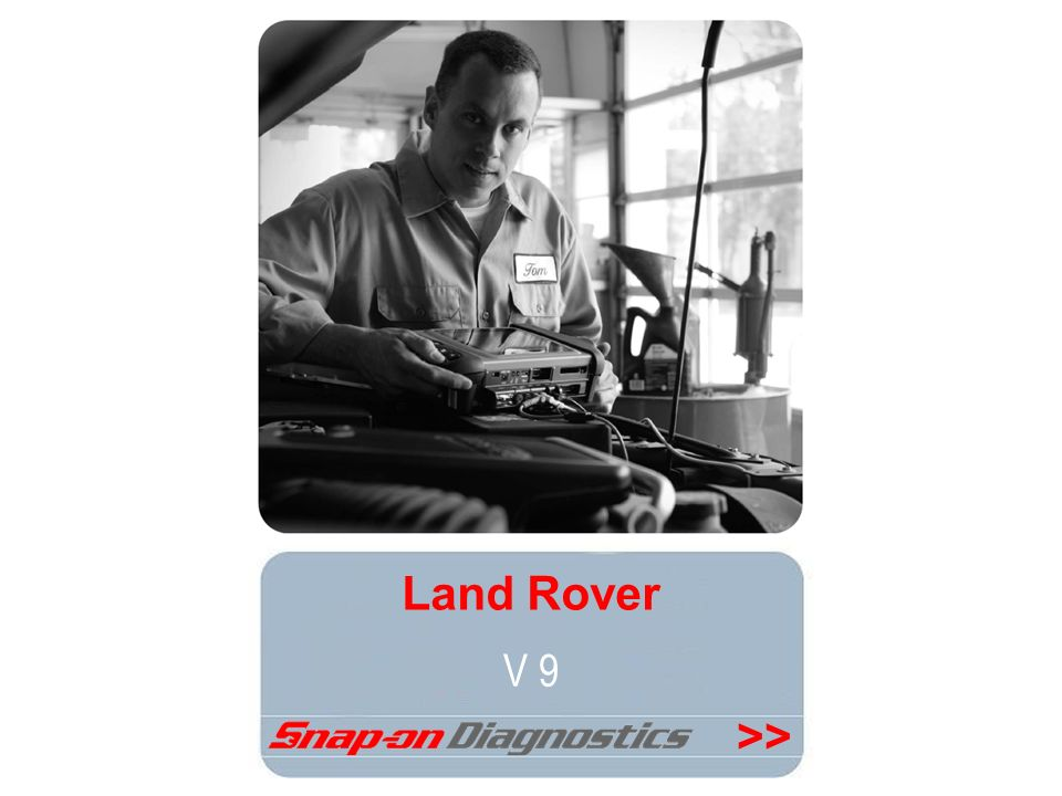 Land Rover V 9