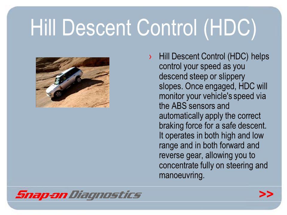 Hill Descent Control (HDC)