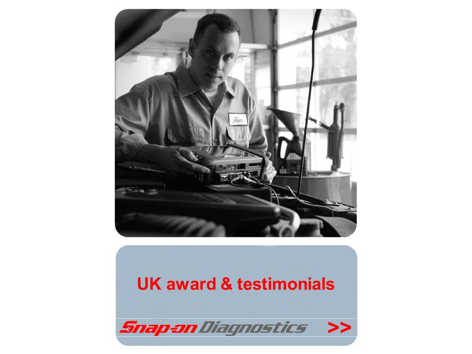 UK award & testimonials