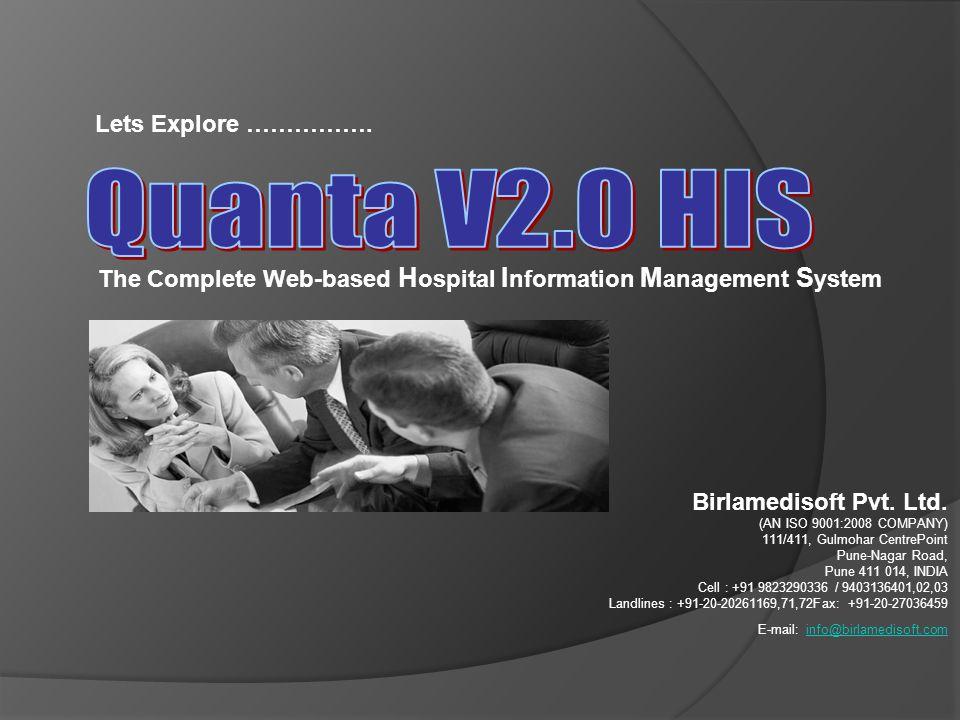 Quanta V2.0 HIS Lets Explore …………….
