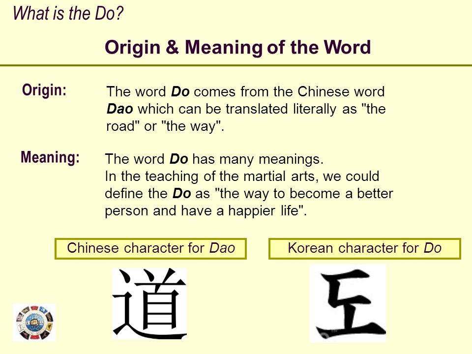 Origin & Meaning of the Word