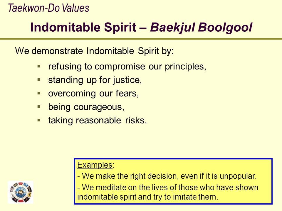 Indomitable Spirit – Baekjul Boolgool