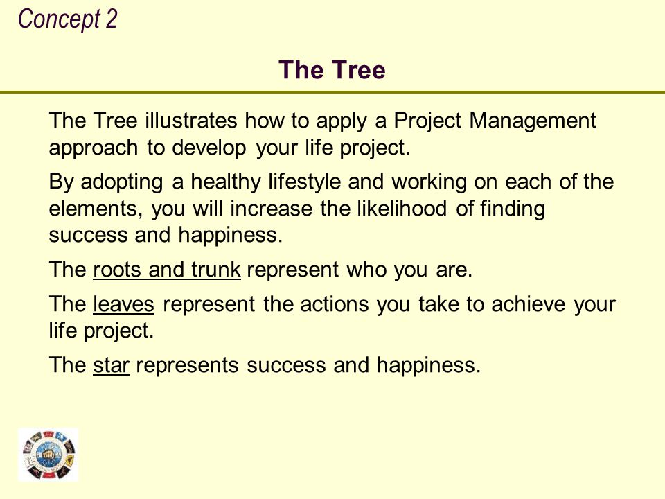 Concept 2 The Tree.