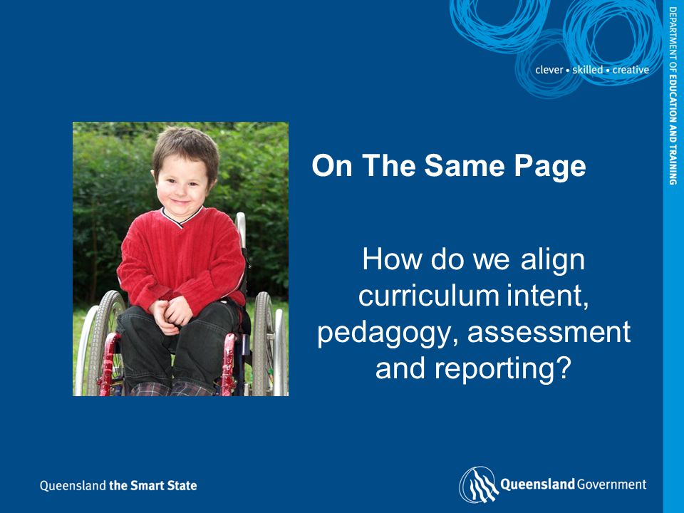 How do we align curriculum intent, pedagogy, assessment and reporting