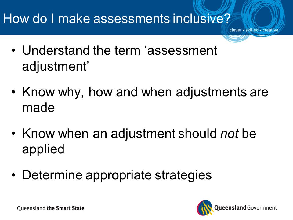 How do I make assessments inclusive