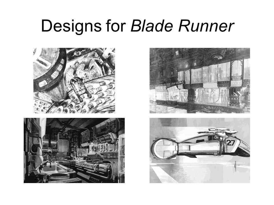 Designs for Blade Runner