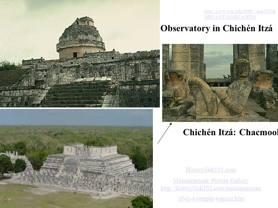Observatory in Chichén Itzá