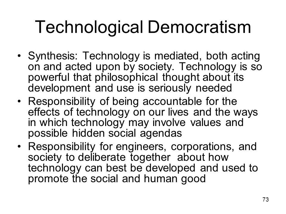 Technological Democratism
