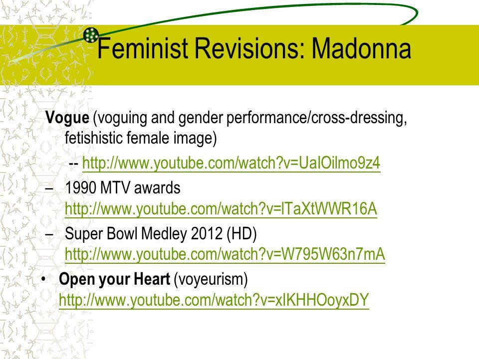 Feminist Revisions: Madonna