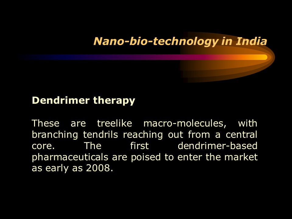 Nano-bio-technology in India