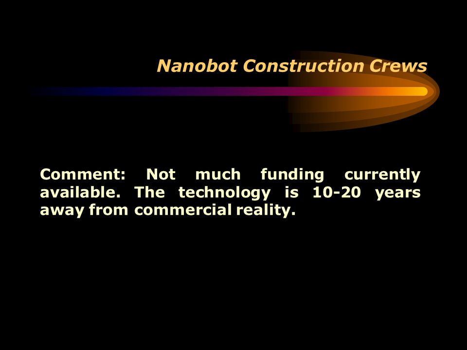 Nanobot Construction Crews