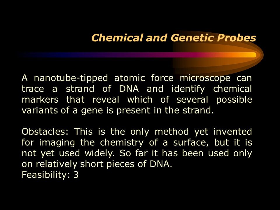 Chemical and Genetic Probes