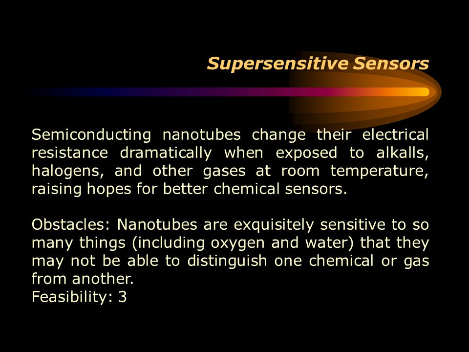 Supersensitive Sensors