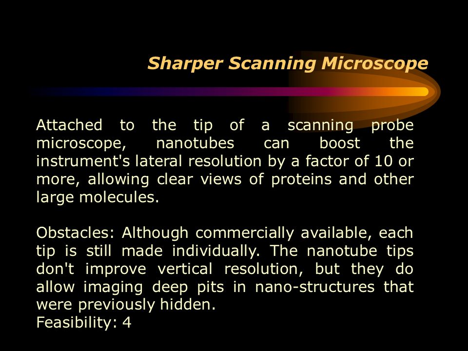 Sharper Scanning Microscope