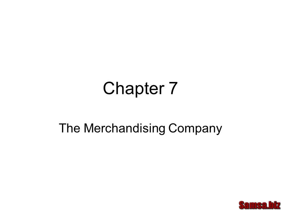 The Merchandising Company