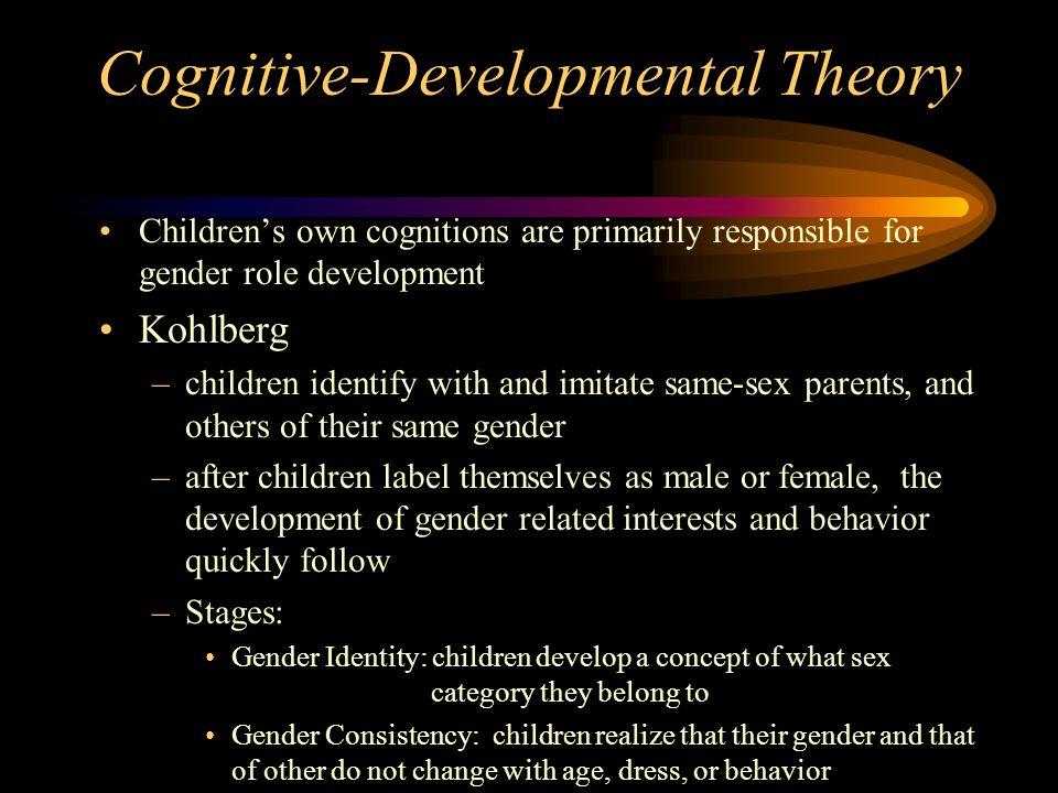 Cognitive-Developmental Theory
