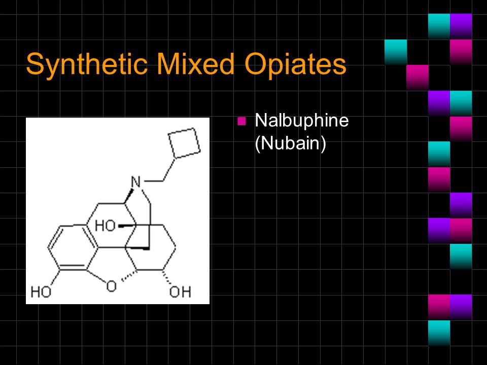 Synthetic Mixed Opiates
