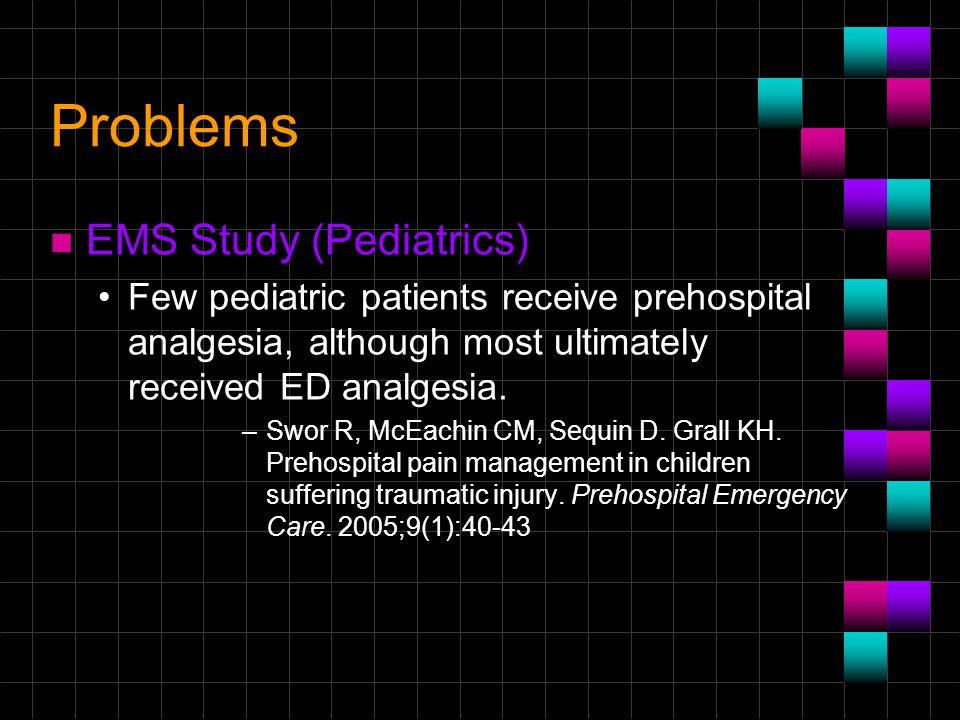 Problems EMS Study (Pediatrics)