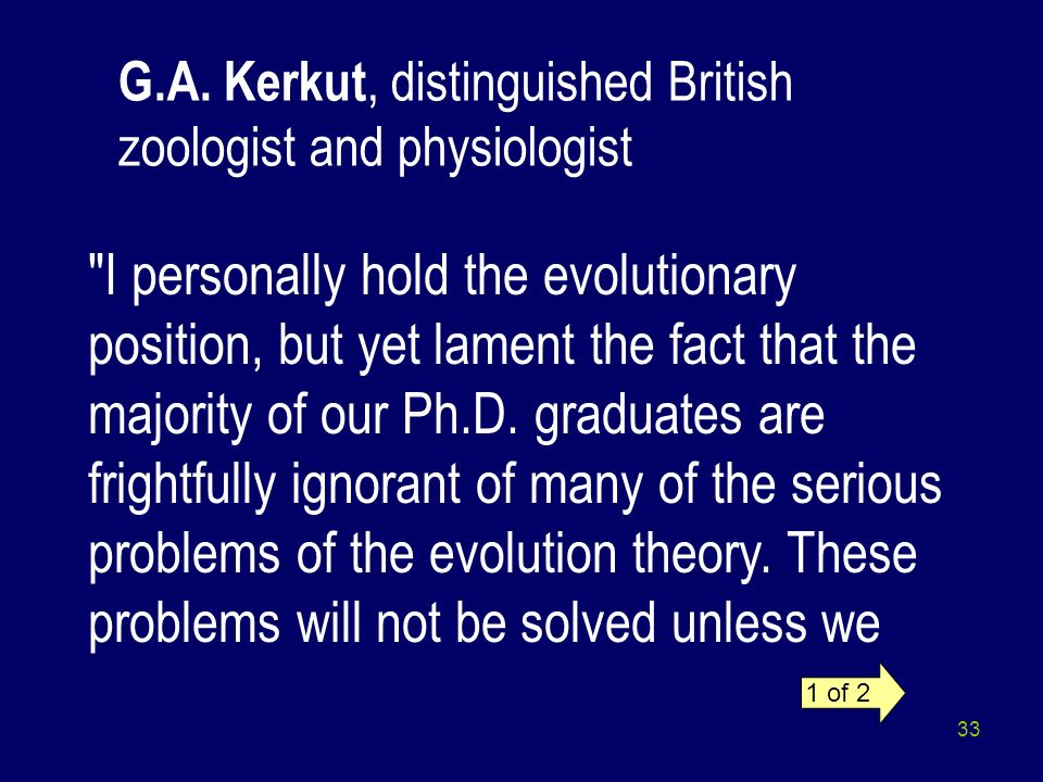 G.A. Kerkut, distinguished British zoologist and physiologist