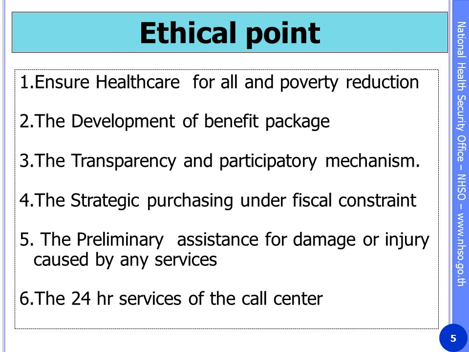 Ethical point